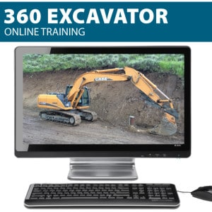 360 excavator safety training