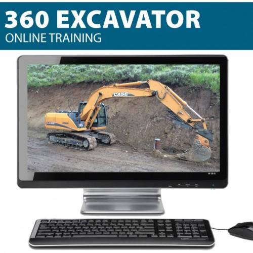 360 excavator safety training