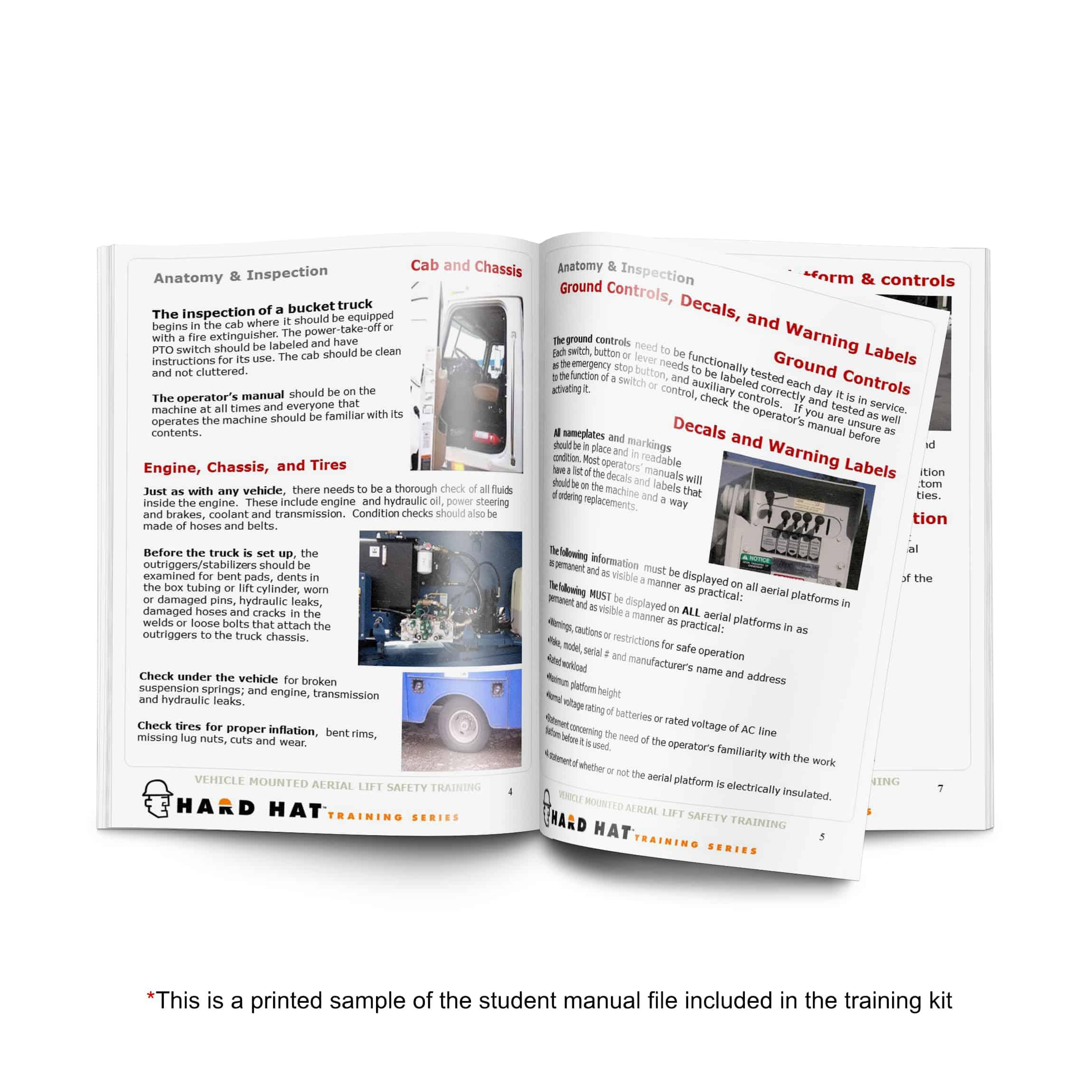 bucket truck student manual