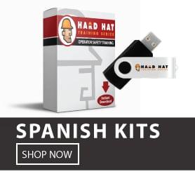 osha onsite training kits in spanish