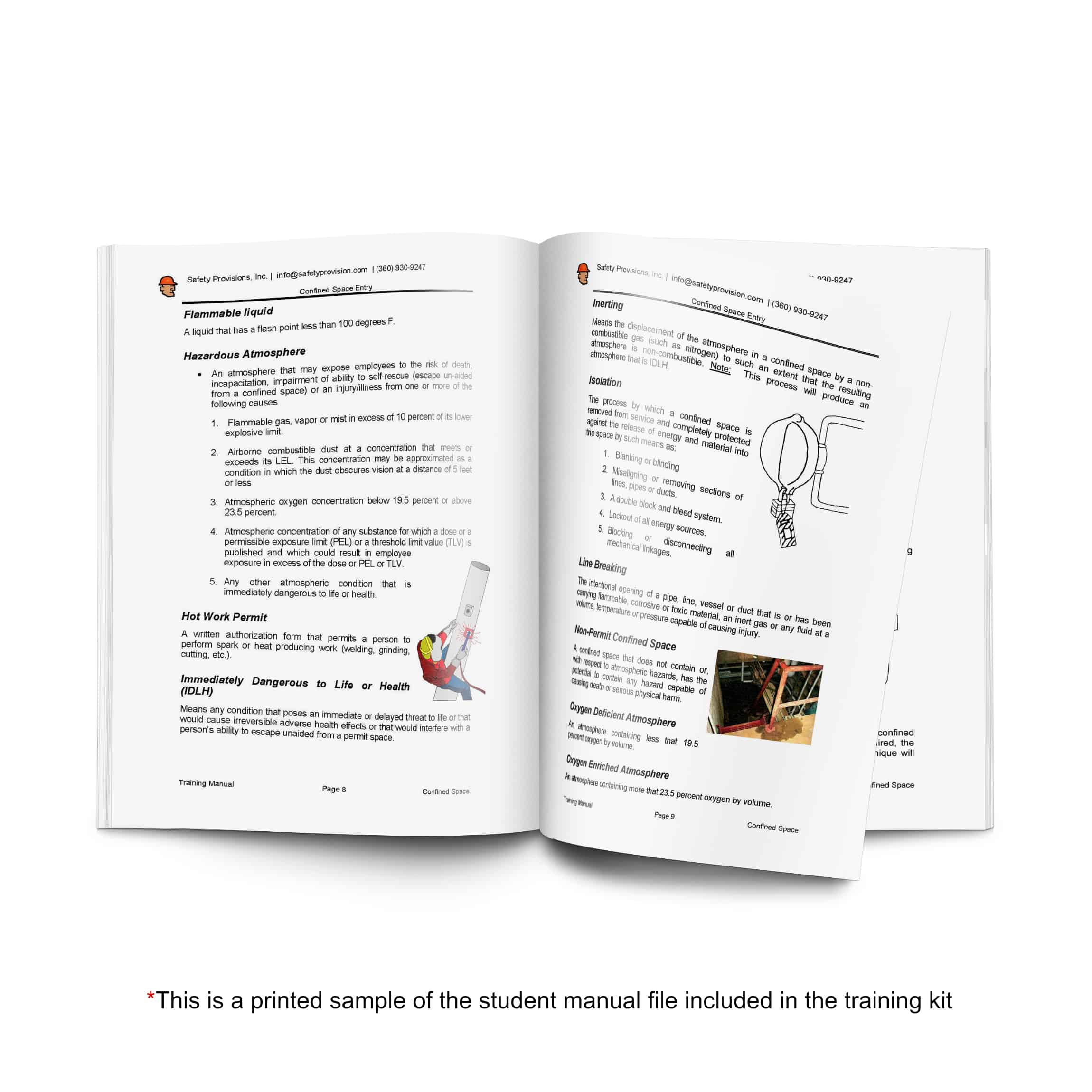 confined space training manual