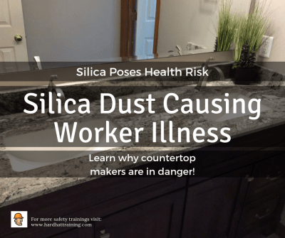 Silica countertops pose threat to workers