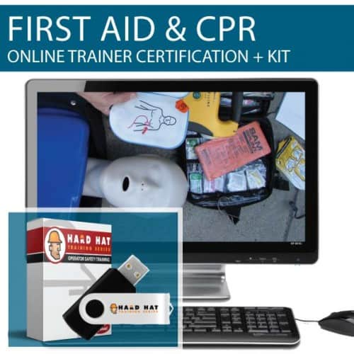 first aid and cpr trainer certification