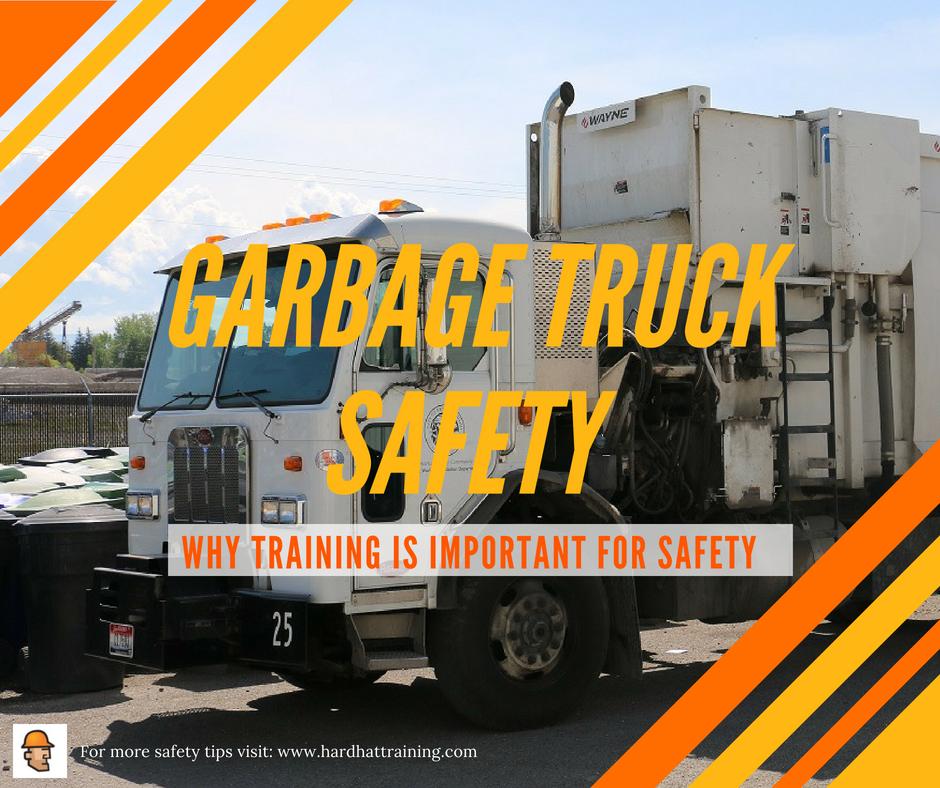 Garbage Truck Safety Hard Hat Training