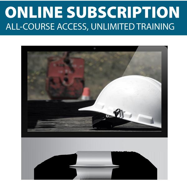 Online OSHA Safety Training Subscription