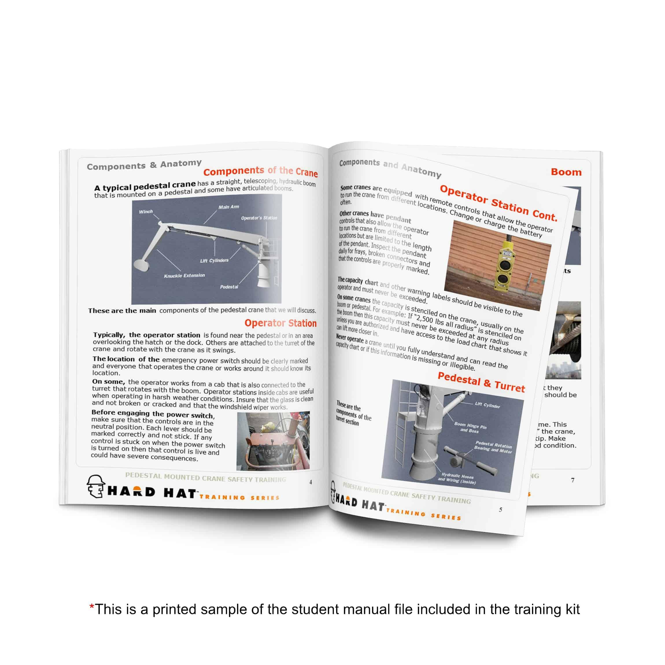 pedestal crane training manual