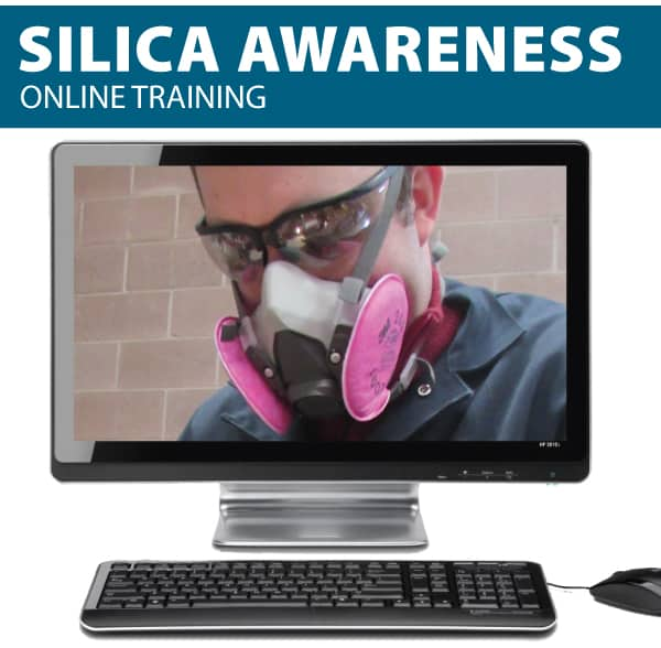 silica awareness training online