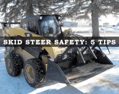 Skid steer safety