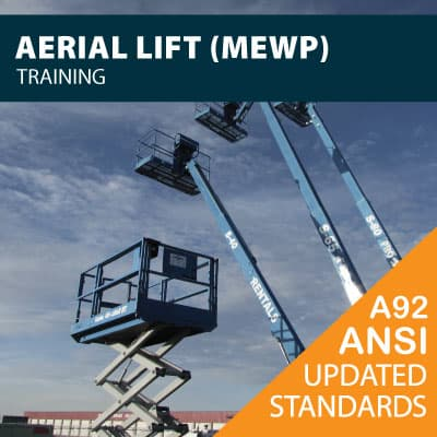 aerial lift mewp training certification