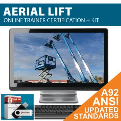 Aerial Lift Train the Trainer/MEWP Train the Trainer/AWP Train the Trainer to earn your Aerial Lift Trainer Certification
