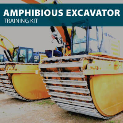 Amphibious Excavator Training for Canada Kit from Hard Hat Training
