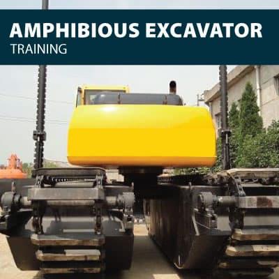 amphibious excavator training certification