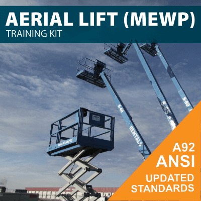 Aerial Lift Training Kit Built to Meet ANSI A92 Updated Standards