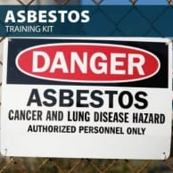 Asbestos Training Kit by Hard Hat Training