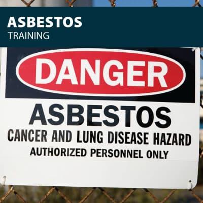 asbestos training certification