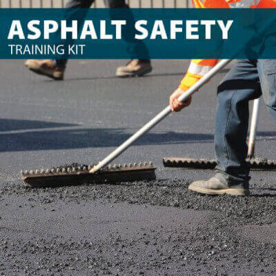 Asphalt Training Kit by Hard Hat Training, Online Asphalt Course also available. Earn your asphalt certification with either option.