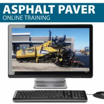 Asphalt Paver Operator Training by Hard Hat Training