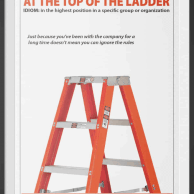 Ladder Safety Poster - Included in our Ladder Safety Training Kit
