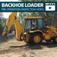 Loader Backhoe Pre-Operation Inspection Walkaround Training Video