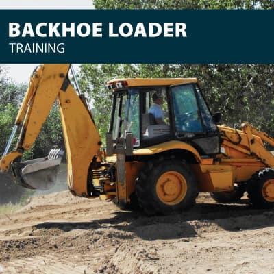 backhoe loader training certification