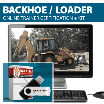 Backhoe Loader Train the Trainer