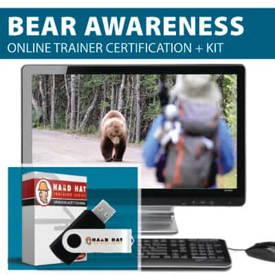Bear Awareness Train the Trainer Online Certification Course