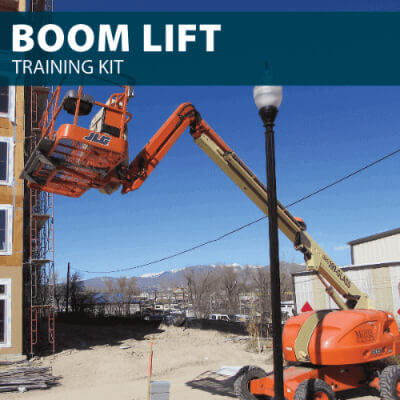 Boom Lift Training Kit from Hard Hat Training