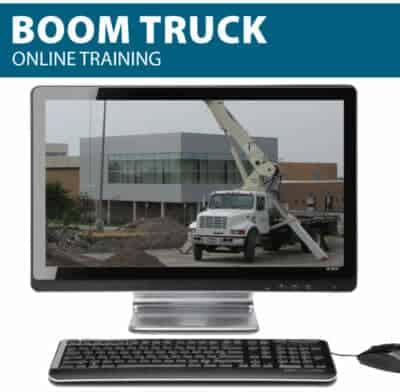 Boom Truck Online Training
