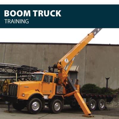 boom truck training certification