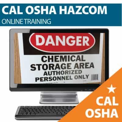 CAL OSHA HAZCOM TRAINING- Covers CAL OSHA Respiratory Protection, PPE, Exposure Limits + Much More