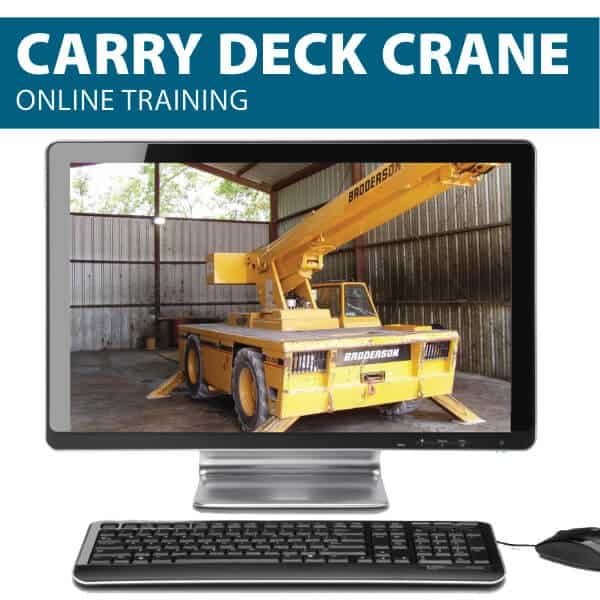 Online Carry Deck Crane Training by Hard Hat Training