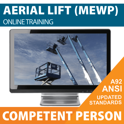 Aerial Lift (MEWP) Competent Person Training Online