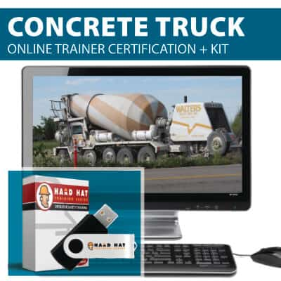 Concrete/Cement Truck Train the Trainer Certification