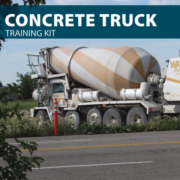 Concrete Truck Training Kit from Hard Hat Training