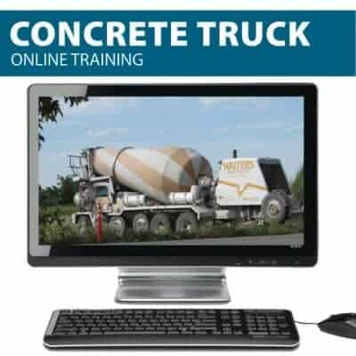 Concrete Truck Online Training