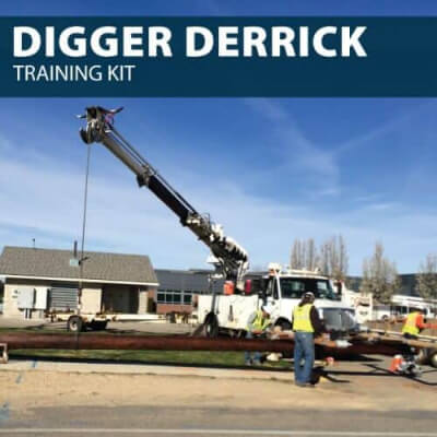 Digger Derrick Training Kit by Hard Hat Training