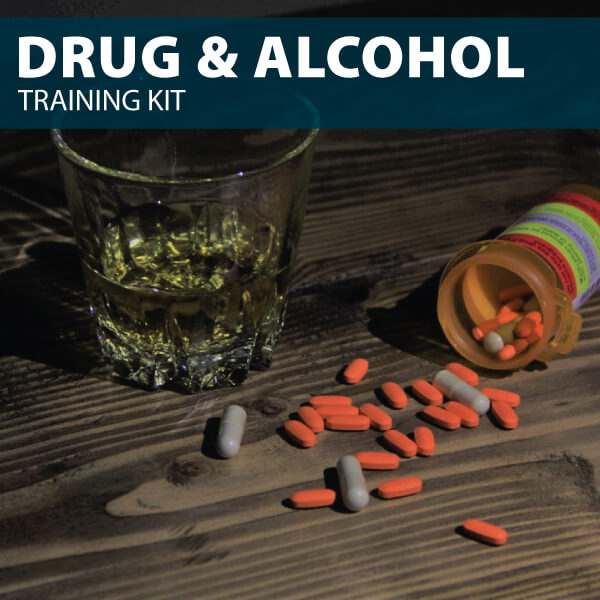 Drug and Alcohol Training Kit from Hard Hat Training