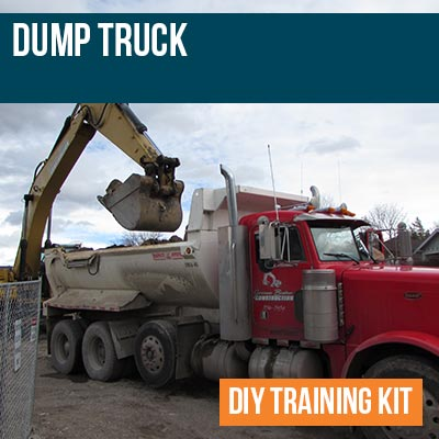 Dump Truck Training Kit by Hard Hat Training