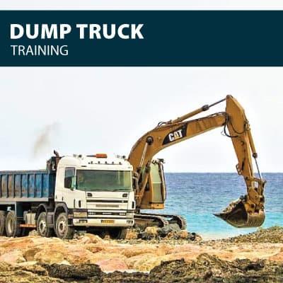 dump truck training certification