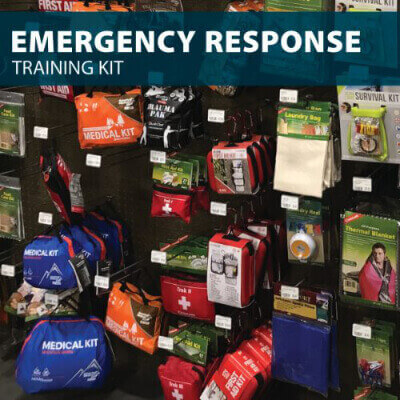 Emergency Response Training Kit from Hard Hat Training