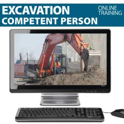 Excavation Competent Person Training Online Course
