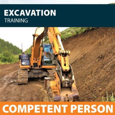 excavation competent person