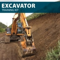 360 Excavator Training Kit - Get Your Excavator License (Wallet Card) and Certificate