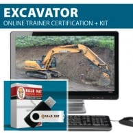 Excavator Train the Trainer - Get Certified to Train Others on Excavator Safety