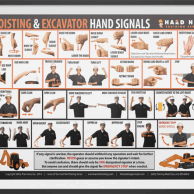 Excavator Hand Signals
