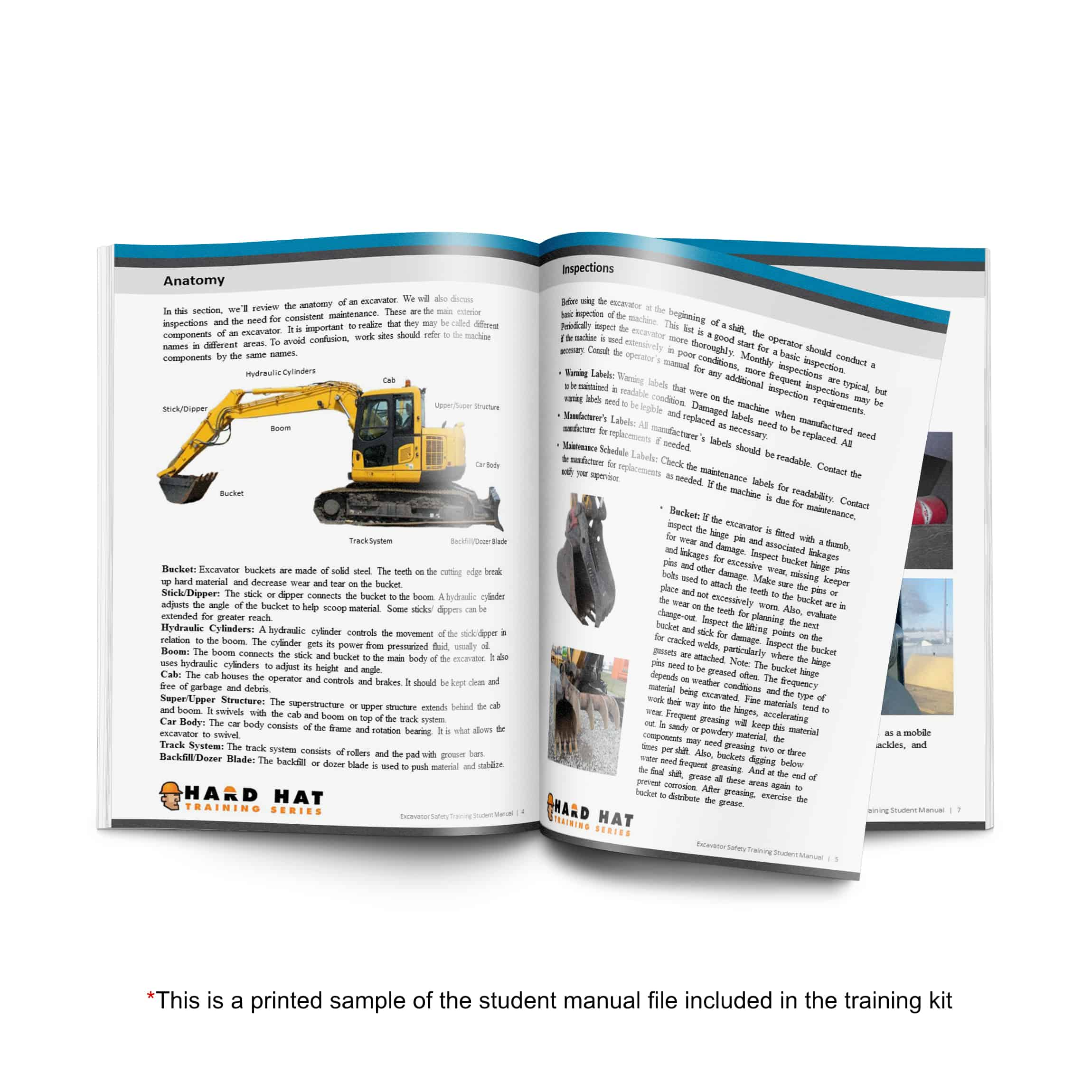 excavator training student manual