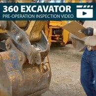 Excavator Pre-Operation Inspection Walkaround Training Video
