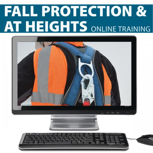 Fall Protection.At Heights Training Kit from Hard Hat Training