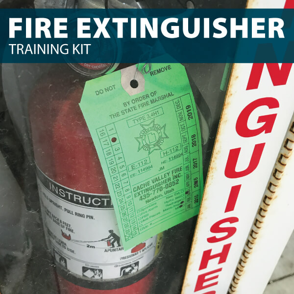 Fire Extinguisher Training Kit from Hard Hat Training