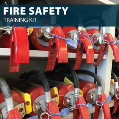 Fire Safety Training Kit by Hard Hat Training